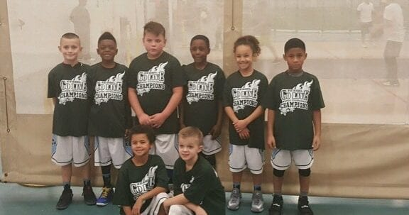3rd Grade White – Champions of Kessel Heat GO LIVE TOURNAMENT Finishing 4-0