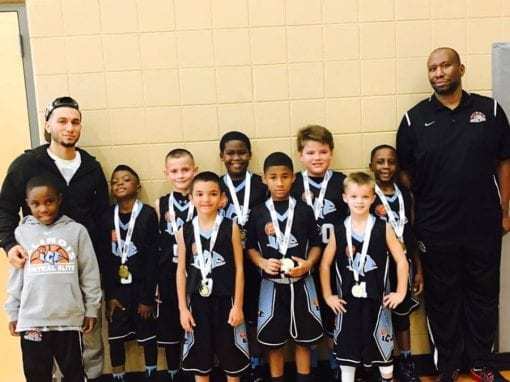 3rd Grade White – 3rd/4th Grade Division Champions of Sunday One Day Shootout