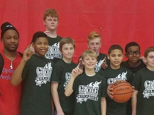 7th Grade – Champions of Kessel Heat GO LIVE TOURNAMENT Finishing 3-0