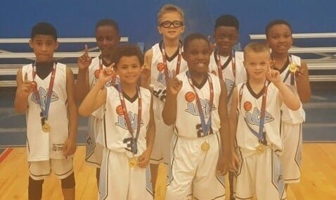 2nd Grade – Champions of Central AAU Friday Night Travel Team League with a perfect record of 10-0