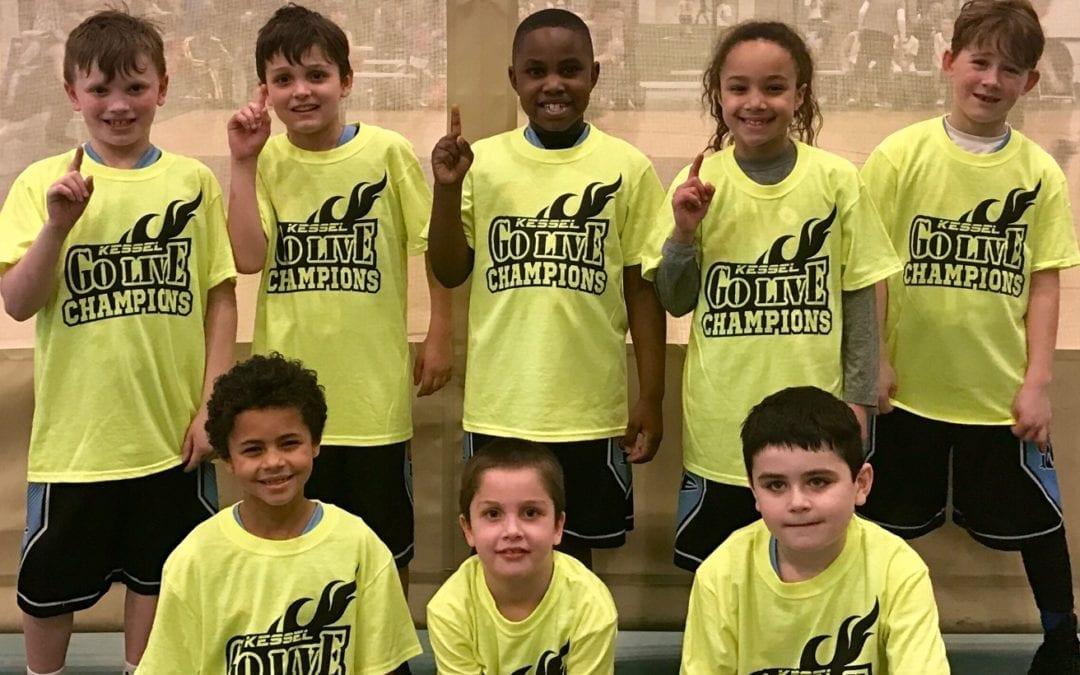 3rd Grade – Champions of GO-LIVE Feeder Sunday Shootout