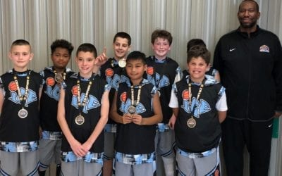 5th Grade Blue – Co-Champions of ICE Spring Breakout Shootout 5th Grade B-Division