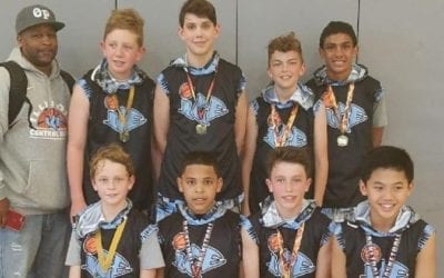 6th Grade Grey – Champions of 13U-7th Grade Division in FTG-Xplosion Sunday Shootout