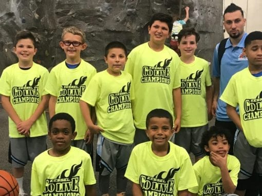 4th Grade Blue – Champions Of Go-Live Mothers Day Shootout