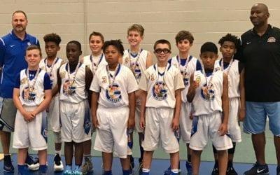 5th Grade White Far-North Gurnee Demons – Champions Of FTG-Xplosion Sunday Shootout