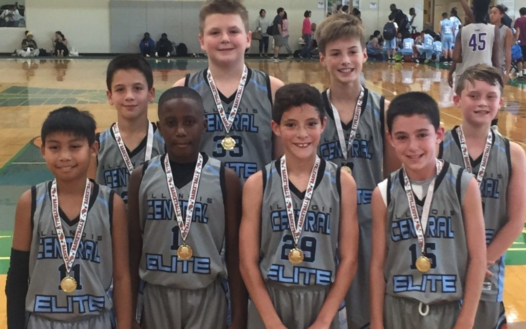 6th Grade Grey – Champions in 6th-7th Grade Division Of FTG-Fall Kickoff Shootout