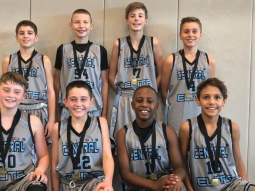 6th Grade – Champions in 7th Grade Division Of FTG-Veterans Day Saturday Shootout