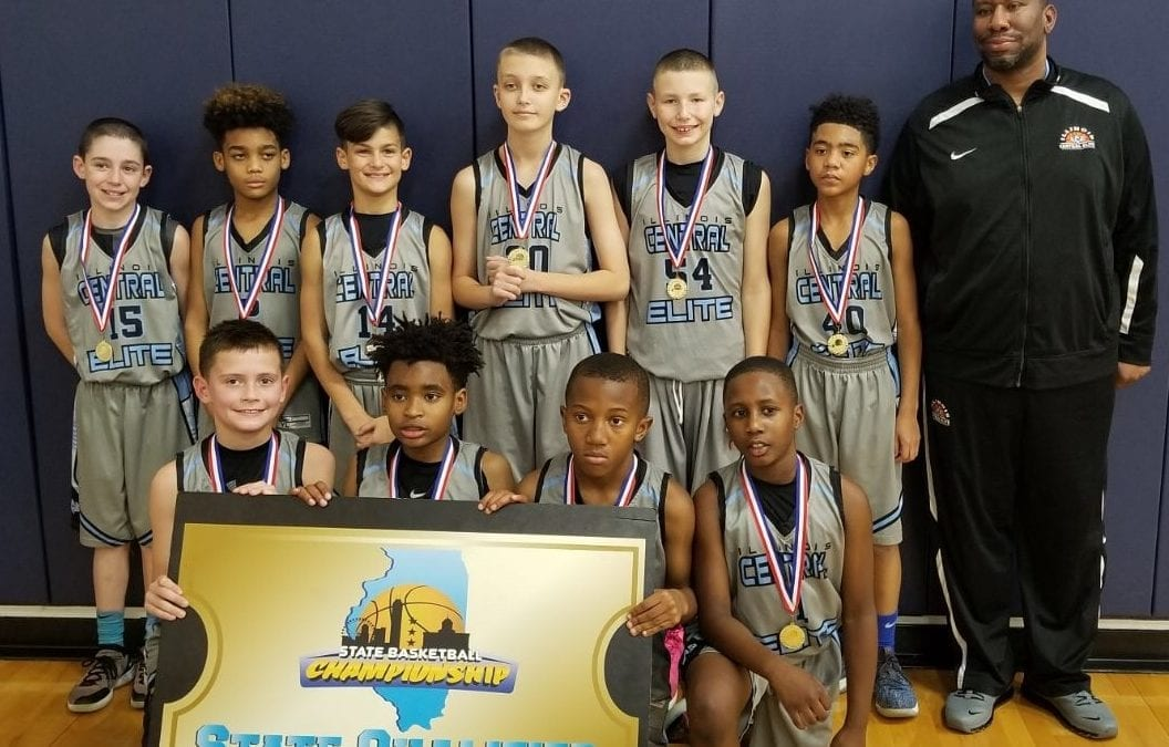 5th Grade Grey – Champions in 6th Grade Division Of CYBN Thanksgiving Classic