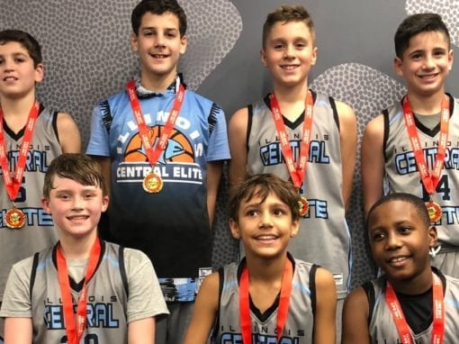6th Grade Grey – Champions in 6th-7th Grade Division Of One Day Shootout Thanksgiving Classic