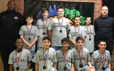 6th Grade Grey – 2nd Place of NY2LA Generation Next Tip-Off Tournament