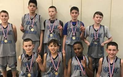 6th Grade Grey – Champions Of CYBN Super Bowl Saturday Shootout in 6th-7th Grade Division