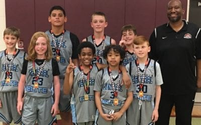 5th Grade White – Champions in 6th Grade Division Of The ICE Jamfest Shootout