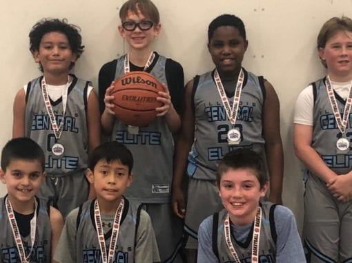 4th Grade Grey – 2nd Place Finish in Play Hard Hoops Super Star Challenge