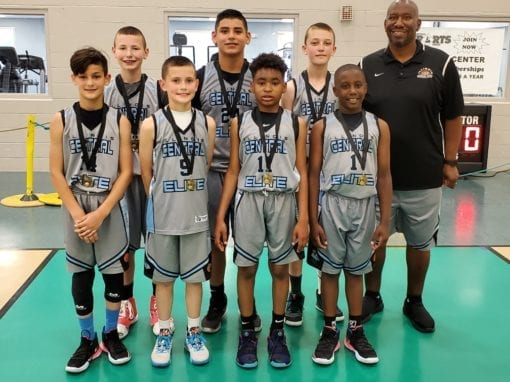 5th Grade Grey – Champions in 6th Grade Division in FTG-Father's Day Shootout