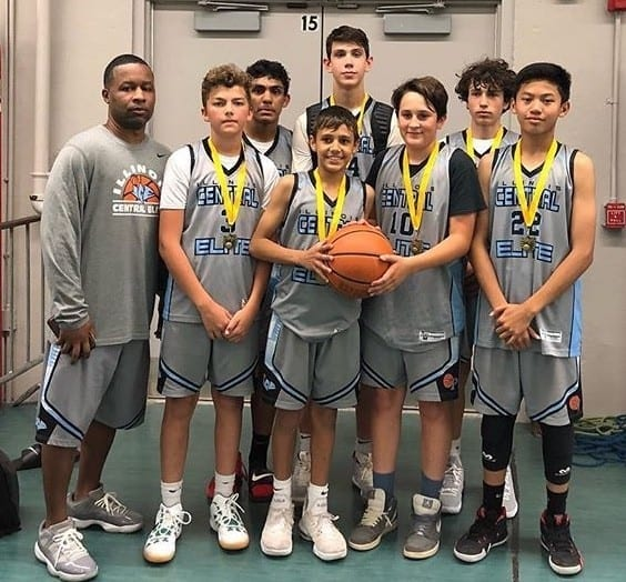 7th Grade Grey – Champions in 8th Grade Division in FTG-Fathers Day Shootout