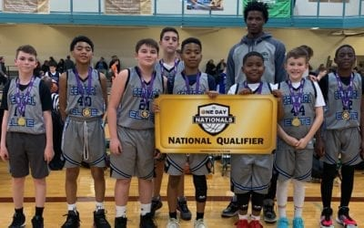 7th Grade Carolina Blue – Champions in Holiday One Day Shootout