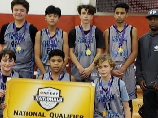 8th Grade Grey – Champions in Holiday One Day Shootout & One Day Shootout National Qualifier